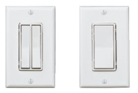 Single and Double Rocker Light Switch