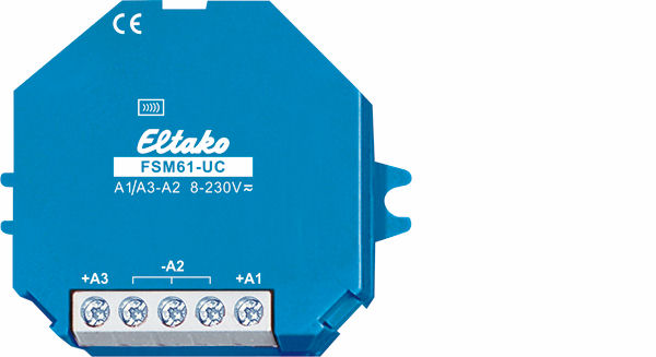 Wireless 2-fold transmitter module FSM61-UC