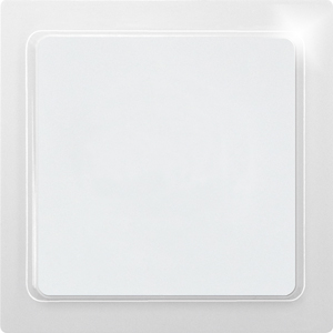 Blind cover BLA65F-wg for RF1E – RF4E, pure white glossy
