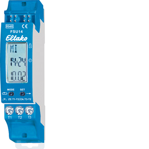 RS485 bus display timer FSU14