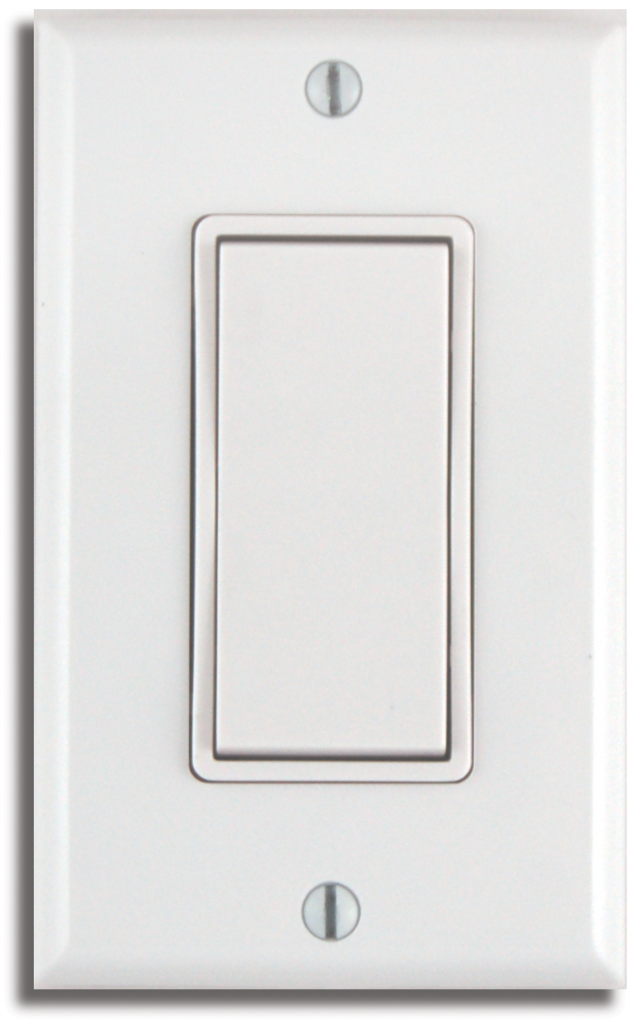 Decorator-style Wireless Light Switch