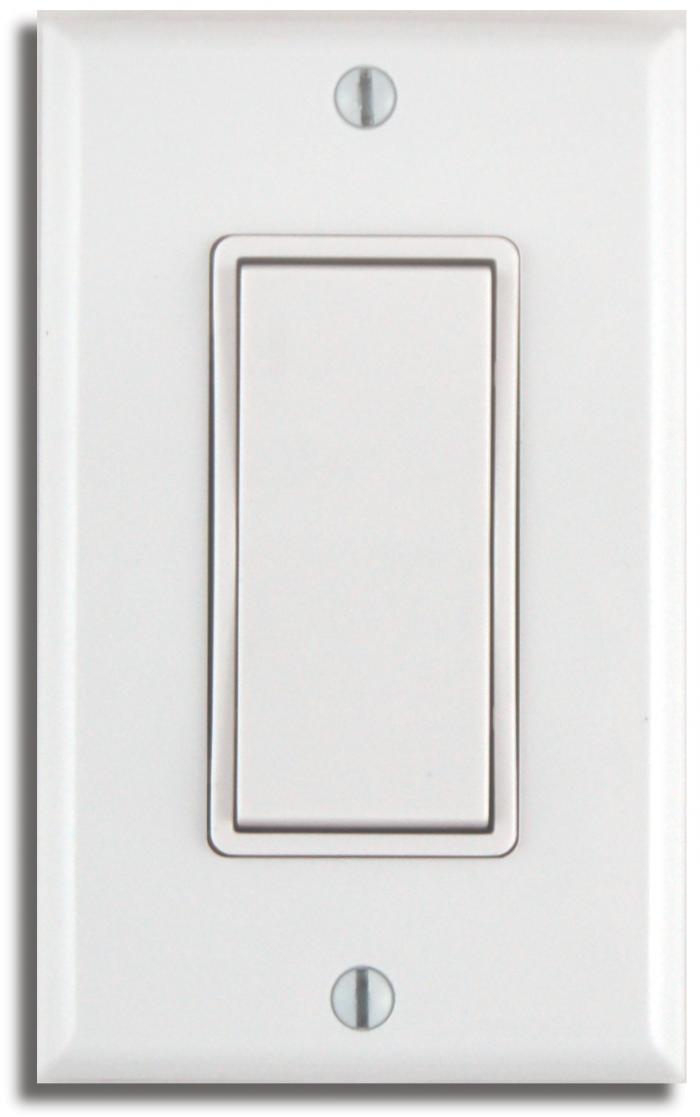 Single Rocker Wireless Light Switch