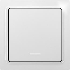 Eltako Wireless 1-way flat pushbutton with energy generator F1FT65-wg