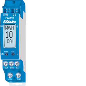 Wireless energy meter concentrator F3Z14D