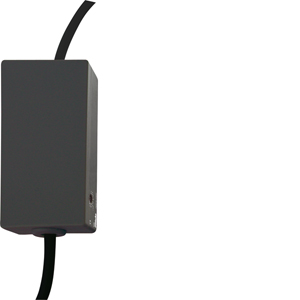 Eltako Wireless actuator impulse switch with integrated relay function FSR70S-230V-rw as cord switch