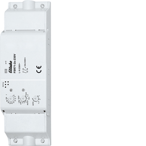 Wireless actuator 2-channel impulse switch with integrated relay function FSR71-2x-230V