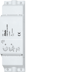 Wireless actuator 2-channel impulse switch with integrated relay function FSR71NP-2x-230V