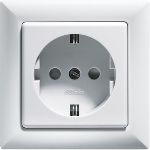 Fused Safety Socket with socket outlet front DSS+SDO55-