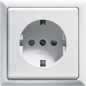 Fused Safety Socket with socket outlet front DSS+SDOF-