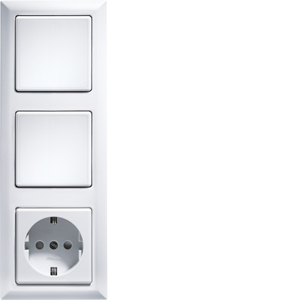 3-way frames R3- for wireless pushbuttons