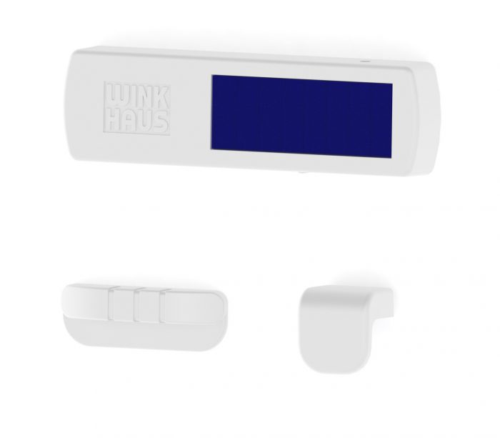 Wireless contact FM.A, opening sensor with solar cell for windows and doors