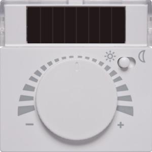 EnOcean Easyclickpro room temperature sensor NOVA, pure white, with day/night switch