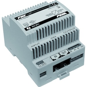 Power supply for Easyclick DIN-rail system, 230V/24V DC, 1,5A