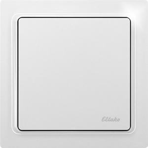 Wireless flat pushbutton actuator dimming FFTA65D-wg, pure white glossy