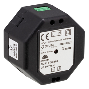 BL-211-00-868 UP SWITCH, EnOcean-Adaptor for standard light switch