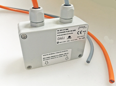 BL-201-31-868 OUTDOOR FLEX 3x ADR, EnOcean-DALI-Controller