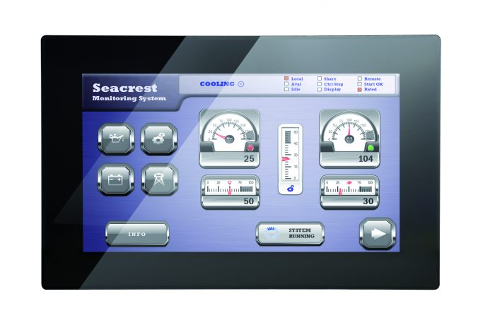 VL-715 STYLE, Control Panel with EnOcean-Interface, 15.6″ capacitive touchscreen