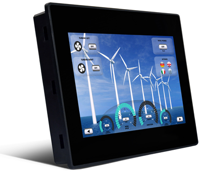 VL-710 SMART, Control Panel with EnOcean-Interface, 10.1″ resistive touchscreen