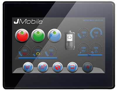 VL-707 STYLE, Control Panel with EnOcean-Interface, 7″ capacitive touchscreen