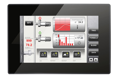 VL-710 STYLE, Control Panel with EnOcean-Interface, 10.1″ capacitive touchscreen