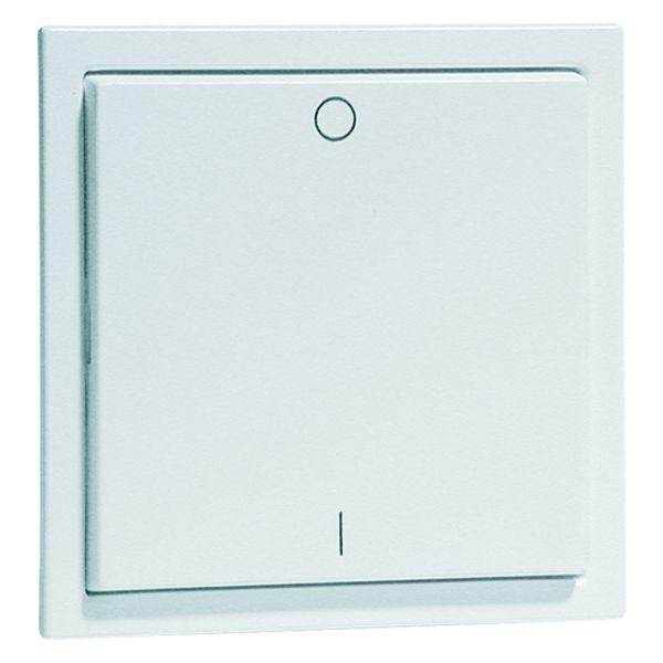 EnOcean Easyclick wall transmitter, AURA, 2-channel, aluminium enamelled, printed I/O