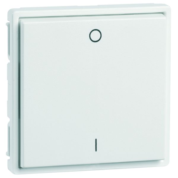 EnOcean Easyfit Universal wall transmitter 55 x 55mm, 2-channel, pure white, printed I/O