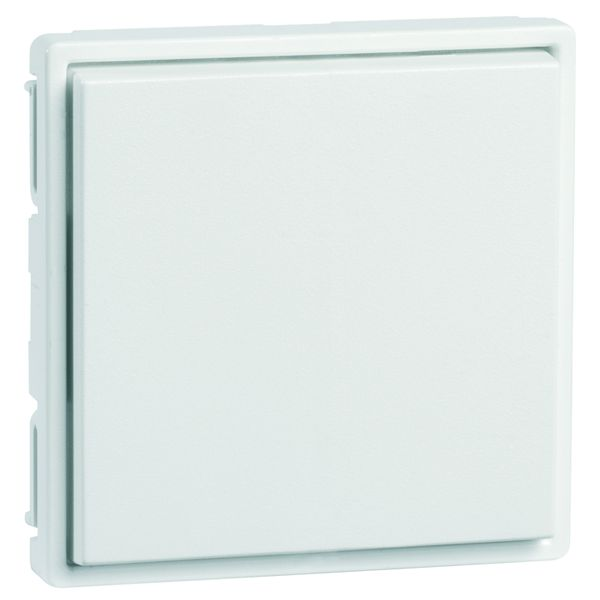 EnOcean Easyfit Universal wall transmitter 55 x 55mm, 2-channel, pure white high-gloss, without printing