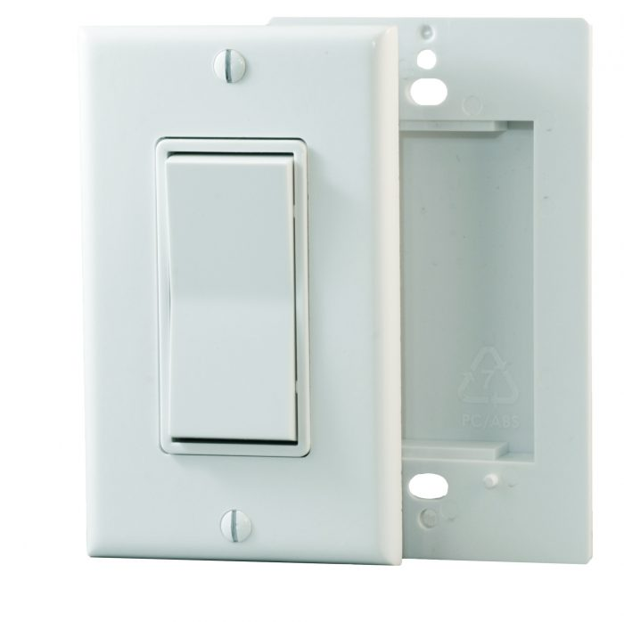 PTM365 – Decorator Style Switch with Barrier Plate