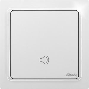 Wireless indoor UP signal generator FIUS65-wg,  pure white glossy