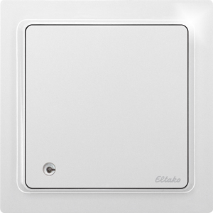 Wireless air quality+temperature+humidity sensor FLGTF65-wg, pure white glossy