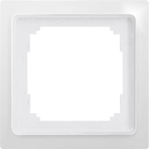 Single universal frame R1UE-wg white glossy