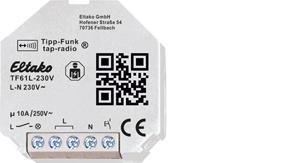 Tap-radio® light actuator TF61L-230V