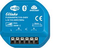 Wireless universal dimming actuator FUD64NPN/110-240V