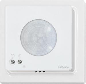 Motion/brightness sensor FBH65TF/12V DC-wg, pure white glossy