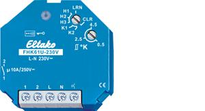 Eltako Wireless actuator heating/cooling relay FHK61U-230V