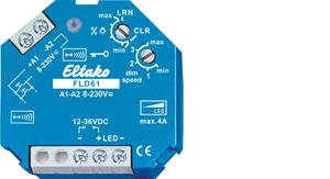 Eltako Wireless actuator PWM LED dimmer switch FLD61