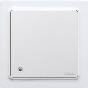 Wireless air quality+temperature+humidity sensor FLGTF55-wg, pure white glossy