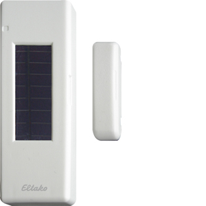 Wireless window door contact with solar cell and battery FTKB-