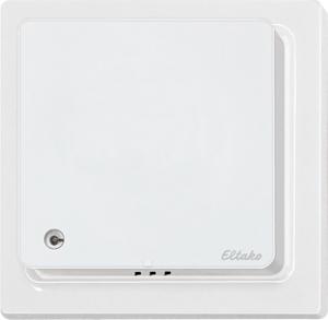 Wireless CO2+temperature+ humidity sensor FCO2TF65-wg, pure white glossy